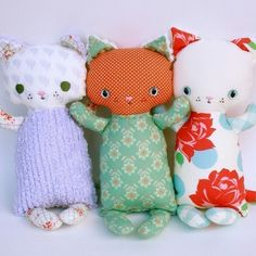 SALE Katie Kitten PDF Doll Pattern. $7.70, via Etsy.