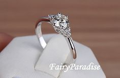 Simple 1 Ct Engagement / Anniversary / Promise by FairyParadise