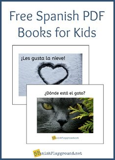 These free Spanish PDF books for kids use simple sentences and common vocabulary. Spanish Basics, Spanish Class, Spanish Lessons, Learn Spanish, Elementary Spanish, Spanish Games, Spanish Songs, Spanish Activities, Spanish Language Learning