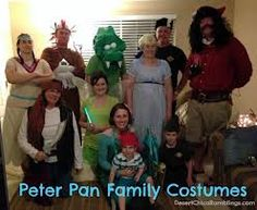 Peter Pan and the Neverland Crew Halloween 2012 Pirate Halloween, Unique Halloween Costumes, Halloween Kids, Halloween Party, Halloween Tricks, Halloween 2014, Happy Halloween, Homemade Costumes, Diy Costumes