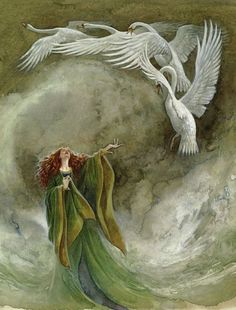 Blarney Woollen Mills tells the tale of the classic Irish legend - the Children of Lir. The story is rich in Irish folklore, myths and magic.