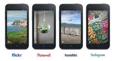 facebook home tumblr flickr 400x214 Facebook Home update brings Flickr