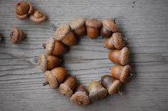 Billedresultat for diy acorn wreath