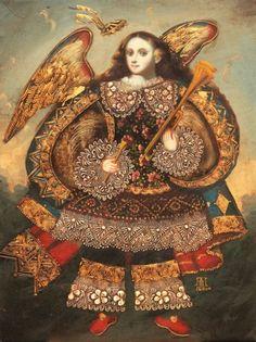 Le figure sacre del barocco di Cuzco