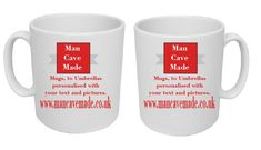 Personalised printed gifts, for you, your family, friends, even to promote your own company. From Mugs to Umbrealls - your own text or images or choose from our popular items. Your Family, Man Cave, Popular, Mugs, Printed, Friends, Tableware, Pictures, Gifts