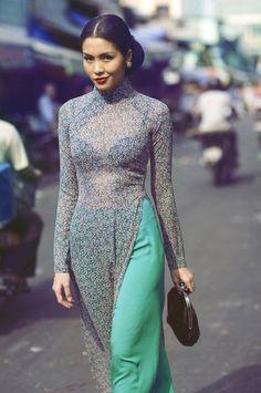 Dress by Nguyễn Cát Tường