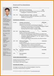 Image Result For German Cv Template In English Cv Format Sample