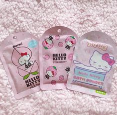Shared by ♡花ちゃん♡. Find images and videos about cute, pink and kawaii on We Heart It - the app to get lost in what you love. Hello Kitty Bathroom, Hello Kitty House, Hello Kitty Items, Hello Kitty Makeup, Kawaii Makeup, Cute Makeup, Korean Face Mask, Cute Themes, Hello Kitty Collection