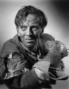 Richard Wordsworth (Victor Caroon).  'The Quatermass Experiment'.  1955.