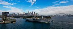 USS Blue Ridge Down Under