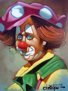 Dots (Clown) by Chuck Oberstein