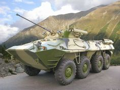 BTR-90 Armored Personnel Carrier (Russia)