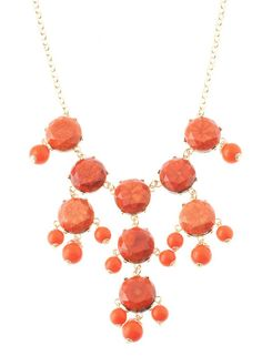 Coral Pippa Necklace – Modeets