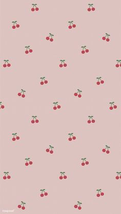 Red hand drawn cherry pattern on pink mobile phone wallpaper illustration Butterfly Wallpaper Iphone, Iphone Wallpaper Vsco, Iphone Wallpaper Tumblr Aesthetic, Iphone Background Wallpaper, Aesthetic Wallpapers, Iphone Backgrounds, Aesthetic Backgrounds, Pink Wallpaper Backgrounds, Vintage Backgrounds