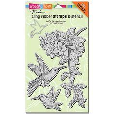 Mama Dini's Stamperia: Stampendous Hummingbird