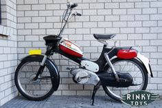 Puch VS50 L Zwart Rood