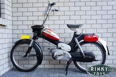 Puch VS50 L Zwart Rood
