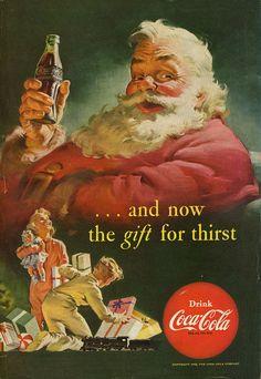 Coca Cola | Dec 1952  | #Christmas #holidays #gifts