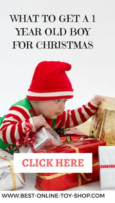 what to get a 1 year old boy for christmas in 2017