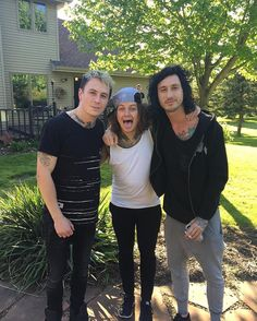 James Cassels, Ben Bruce, and Cameron Liddell // Asking Alexandria