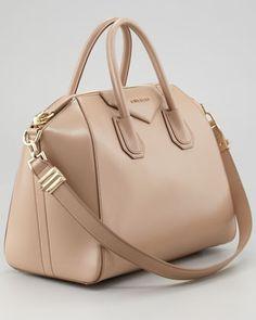 Givenchy Antigona Medium Satchel Bag, Linen