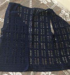 Kadın - Yazlık Spor Yelek Yapımı - Örgü Modelleri Crochet Blouse, Knit Crochet, Sports Vest, Vest Pattern, Matching Couples, Striped Cardigan, Clothing Patterns, Hand Knitting, Knitwear