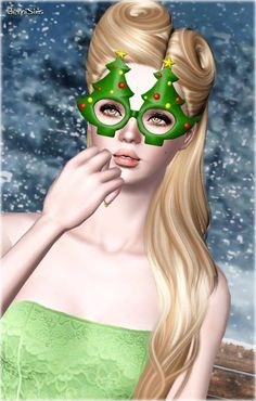 Glasses Tree by Jennisims - Sims 3 Downloads CC Caboodle // http://ossims3oficial.tumblr.com/