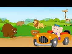▶ Let's Learn About Animals - Preschool Learning - YouTube