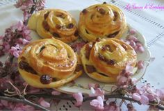 Girelle con uvetta - Dolci per colazione