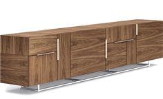 Design Isay Weinfeld, 2013 Wood veneer, metal base & pulls by Geiger®