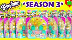 Shopkins Season 3 with 6 Ultra Rare Finds and Polished Pearl Shopkins