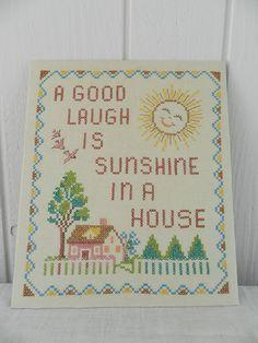 a good laugh cross stitch font