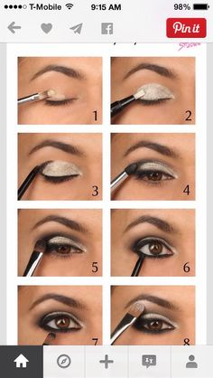 Smokey eyes #Beauty #Trusper #Tip