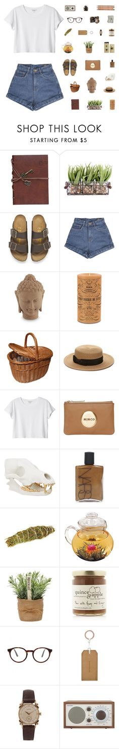 """I SHOULD BE STUDYING BUT WHOOPS"" by smoothpeanutbutter ❤ liked on Polyvore featuring Retrò, Birkenstock, NOVICA, Forever 21, Monki, Mimco, NARS Cosmetics, Crate and Barrel, STELLA McCARTNEY and Bullet"