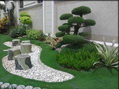 Japanese Front Garden Japanese Garden Design Minimalist Ideas On D 1203 Fandominationnet HD Wallpaper Frsh Rock Garden Design, Garden Landscape Design, Small Garden Design, Small Japanese Garden, Japanese Garden Design, Japanese Plants, Home Landscaping, Front Yard Landscaping, Landscaping Rocks