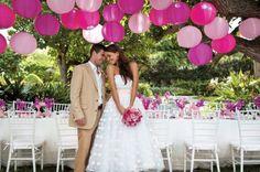 Opção: Decoração de casamento sem flores