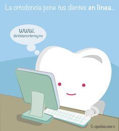 La Ortodoncia mantiene tus dientes en línea, www.dentistamonterrey.mx