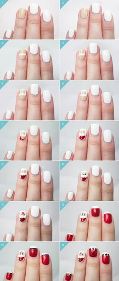 BEST TUTORIAL FOR NAIL ART 2016