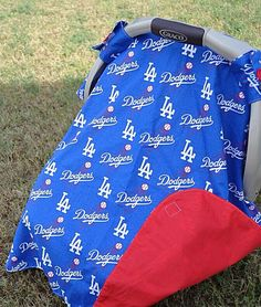 Carseat canopy and Minky Blanket cover tent by LilacsAndLeopards