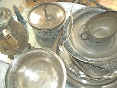 Silver Trays and More...