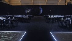 Omega Hosted Dinner on the Moon - Google Search