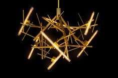 One of our newest contemporary chandelier collections introduced at Salon del Mobile. See all of our must see contemporary lighting and interior designs Custom Lighting, Modern Lighting, Drawing Interior, Contemporary Chandelier, Beautiful Lights, Amazing Architecture, Interior Lighting, Van, Ceiling Lights