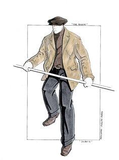 The Quest.  Jean Claude Van Damme Montreal shoot opening costume. #josephporrodesigns