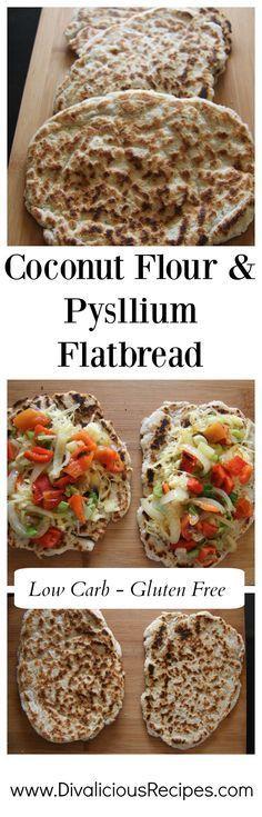 Coconut Flour Psyllium Flatbread