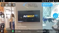 AVIWEST at TecnoTelevision & Radio Show in Bogota, Colombia