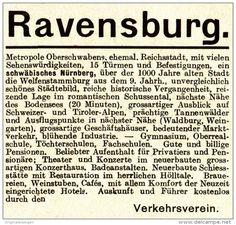Original-Werbung / Anzeige 1913 - RAVENSBURG - ca. 60 x 60 mm