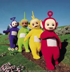 Teletubbies...and tubby toast!