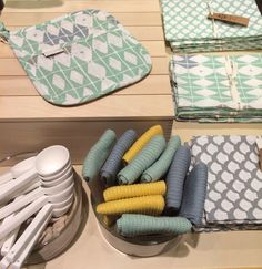 New textiles and householdcloths in new fresh colours!