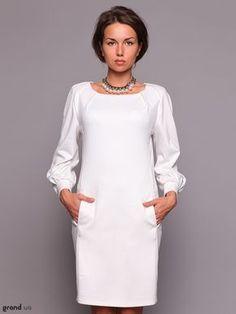 Моделирование белого платья