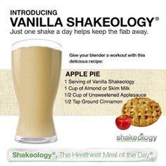 Yum!!!  #shakeology #applepie #yum  www.beachbodycoach.com/OFFICIALLISH